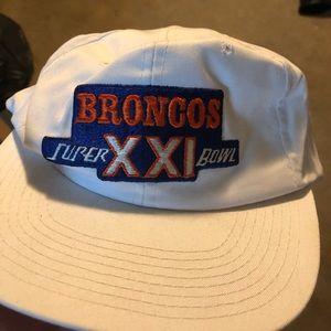 Set of 3 VINTAGE Denver Bronco Hats